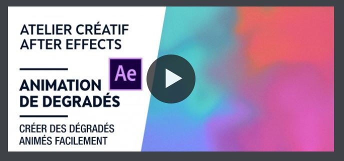 Tutoriel After Effects